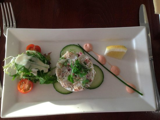 Corbiere Phare : Crab Tian (starter)