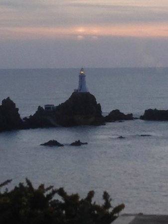 Corbiere Phare : View from the restaurant towards the Lighthouse (3)