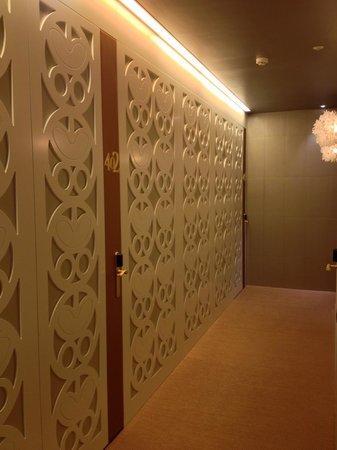 Princesa Munia Hotel & Spa: Entrée des chambres