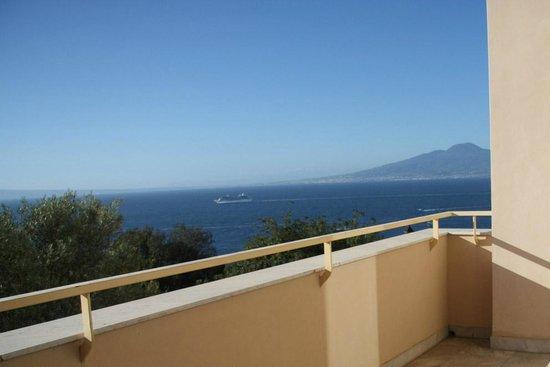 Hotel Miramare: Utsikt från vår balkong