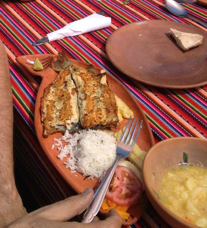 Taquile Island : Fresh trout