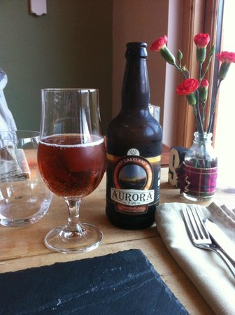 The Chalet Tearooms and Restaurant: Choice of ales