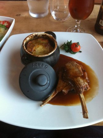 The Chalet Tearooms and Restaurant: lamb hotpot delicious