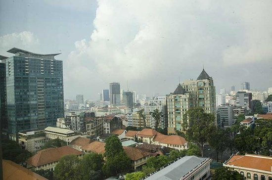 InterContinental Asiana Saigon: City skyline as seen from our room