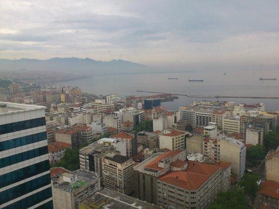 Hilton Izmir: İzmir körfezi