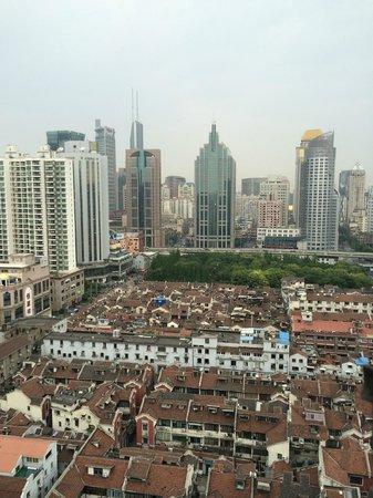 SSAW Boutique Hotel Shanghai Bund: вид с 17 этажа