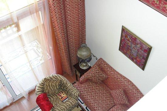 Domina Hotel & Resort Harem : вид со второго этажа