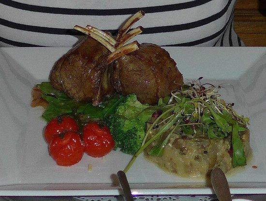 Hotel Restaurant Schwert : carré agneau