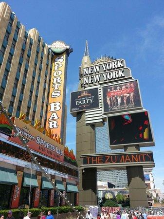 New York - New York Hotel and Casino: Hôtel