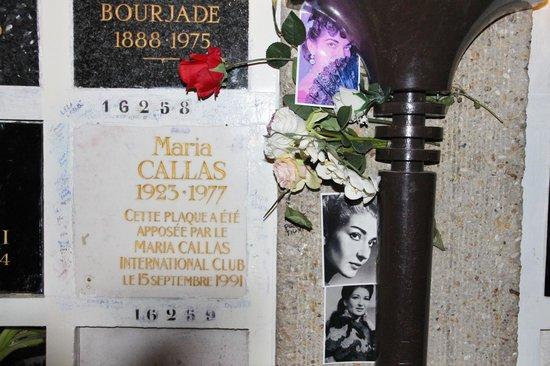 Cimetière du Père-Lachaise : Maria Callas