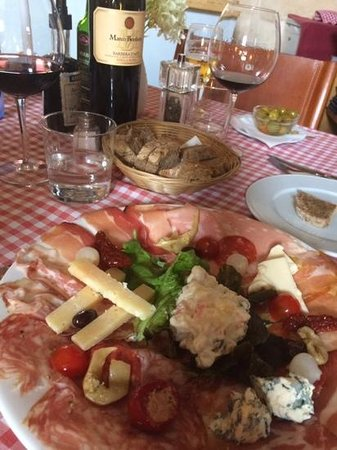 Trattoria y Pizzeria la Trencadora: Antipasto mixto
