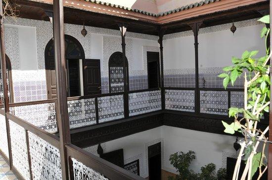 Riad Al Jana: premier étage