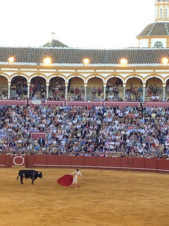 Hotel Adriano Sevilla: Bull Ring is less than a block away