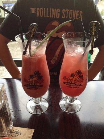 Hard Rock Cafe Amsterdam: Amazing cocktails