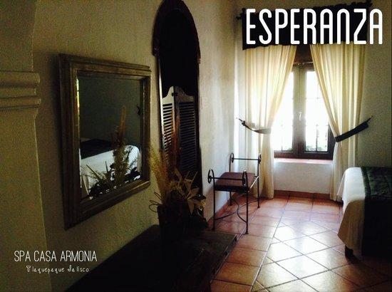 Casa Armonia: Habitacion ESPERANZA