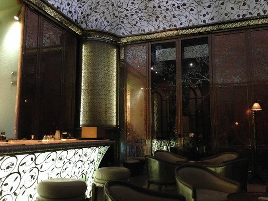 Royal Mansour Marrakech : The stunning bar lounge