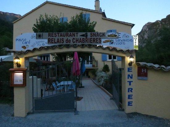 Au Relais de Chabrieres: Entrance