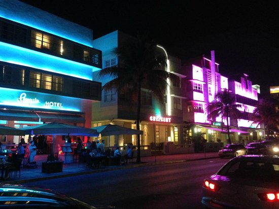 Penguin Hotel Night
