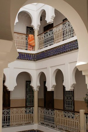 MonRiad : Internal courtyard