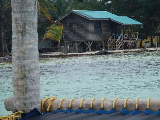 Isla Marisol Resort: From swim platform toward Cabana #2