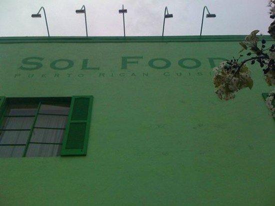 Sol Food Puerto Rican Cuisine : building