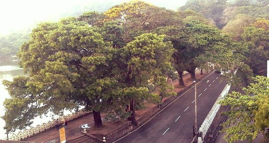 Queens Hotel Kandy: viwe from a room