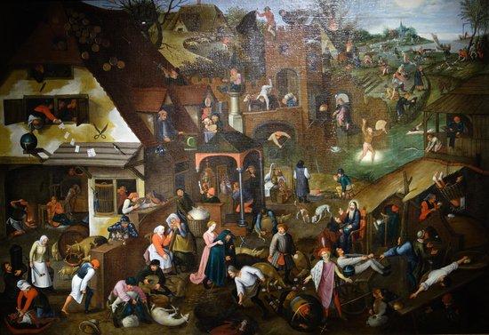 Frans Hals Museum: Pieter Brueghel, the y.: Proverbs