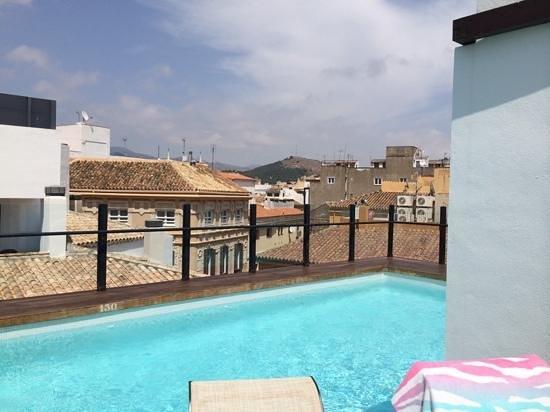 Vincci Seleccion Posada del Patio : roof top pool