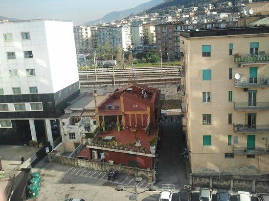 Grand Hotel Salerno: panorama dalla camera