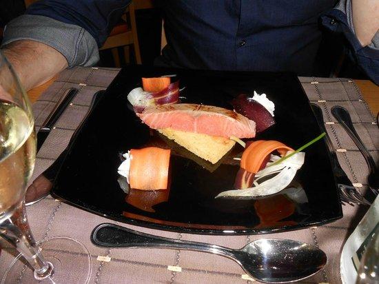 Best Western Plus Celtique Hotel & Spa : Saumon