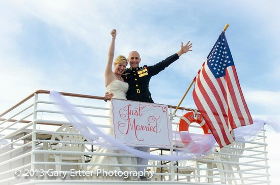 McCall Lake Cruises: Just Married