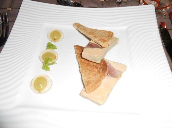 Best Western Plus Celtique Hotel & Spa : Foie Gras maison