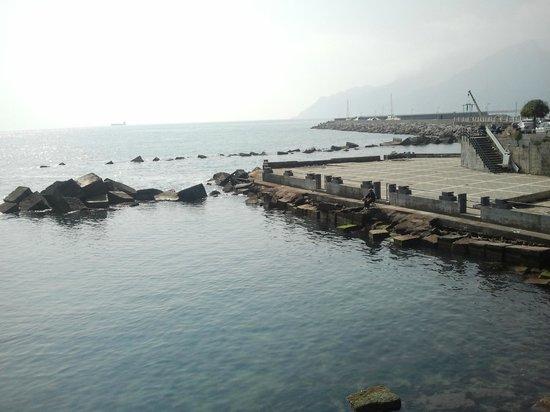 Grand Hotel Salerno: lungomare fronte hotel