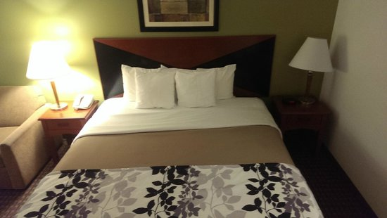 Sleep Inn South Bend: Comfy Bed