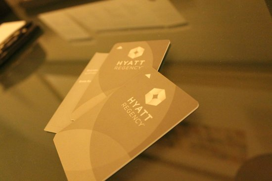 Hyatt Regency San Francisco Airport - Burlingame: Keycards
