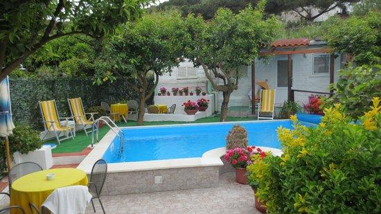 Hotel Ristorante La Rondinella Baia di Sorgeto: Pool