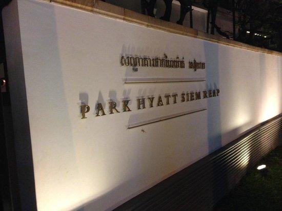Park Hyatt Siem Reap: Front Entrance