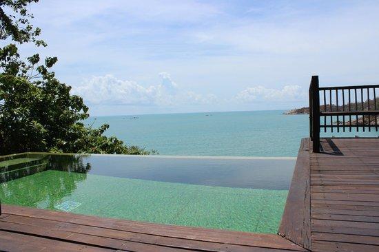 Six Senses Samui: Ocean front pool villa view