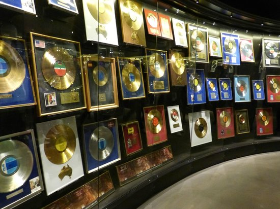 ABBA The Museum: Winning discs on display