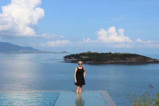 Six Senses Samui: View from resort pool