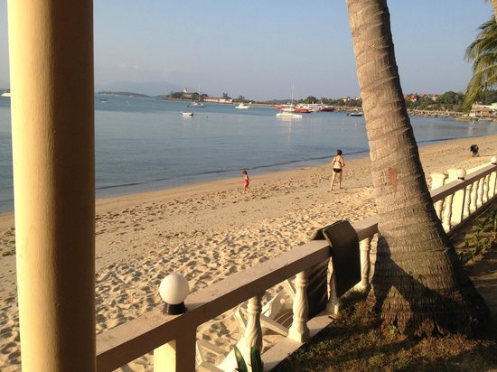 Samui Mermaid Resort: they meant it when they called this room beach view.