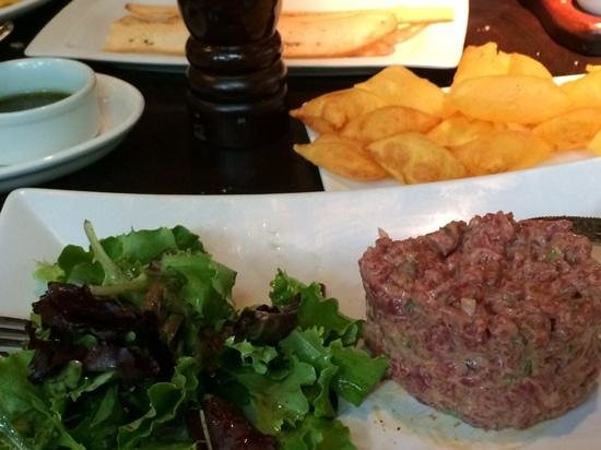 Rubaiyat Madrid: steak tartare