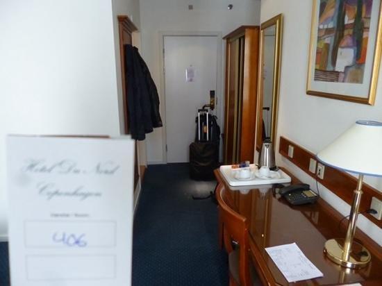 Hotel Du Nord Copenhagen : room entrance