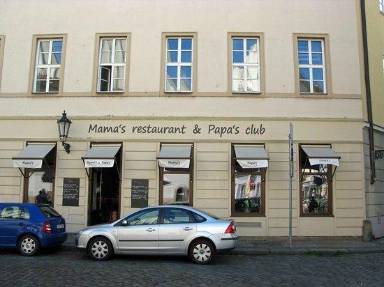 Mama's Restaurant : Der Eingang zum Restaurant