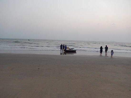 Park Hyatt Goa Resort and Spa: clean beach area