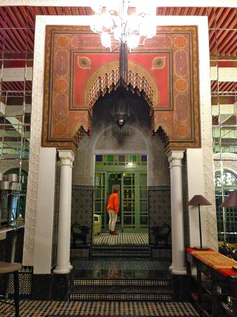 L'Amandier Palais Faraj : ENTRADA
