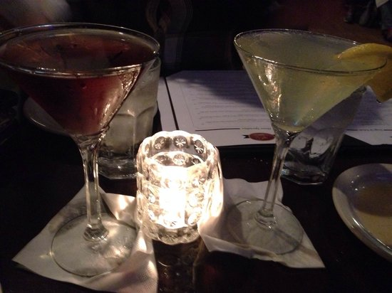 Martinis Bar and Grill : Lovely Martinis!
