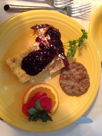 Pineapple Hill Inn Bed & Breakfast: Delicious!