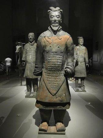 Museum der Asiatischen Zivilisationen: Chinese army in stone