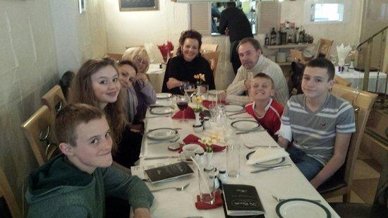 La Casetta Italian Restaurant: Harry's birthday